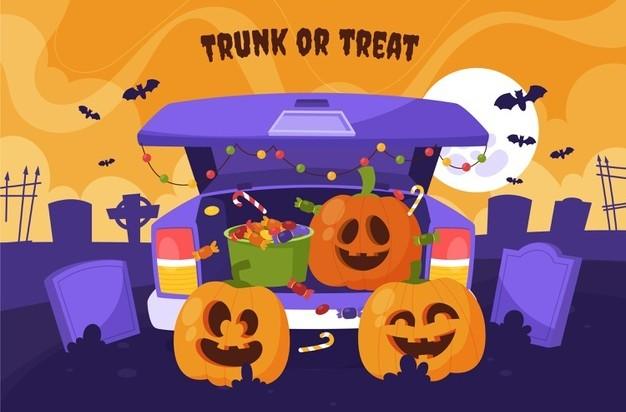 trunk or treat halloween